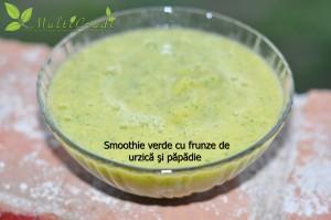 smoothie verde urzica