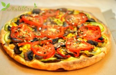 pizza in stil vegan